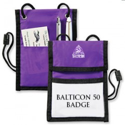 Balticon 50 Badge Holder