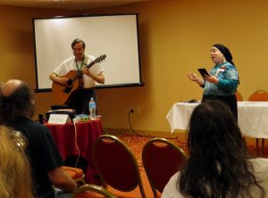 Filk Music performance