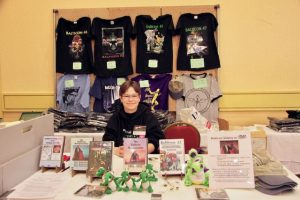 Balticon Souvenir sales table